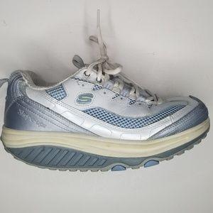 Skechers Shape Ups Toning Shoes Women Size 7 euc